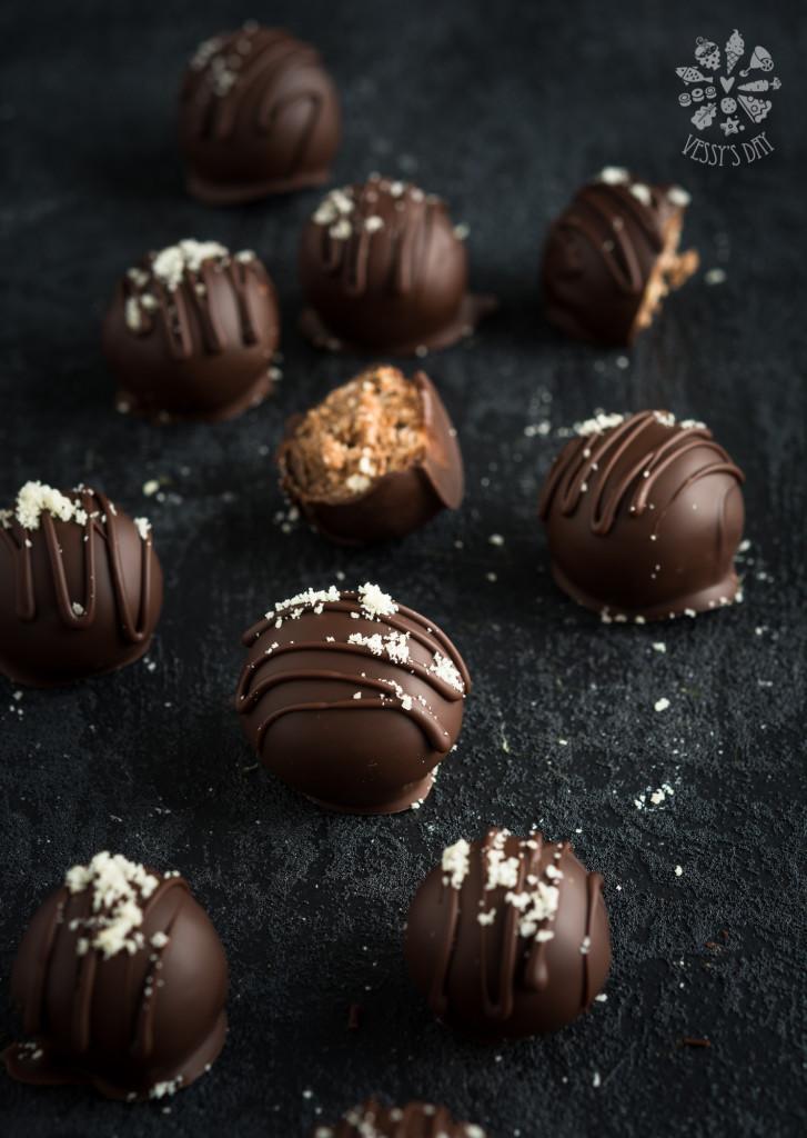Шоколадови бонбони с бейлис