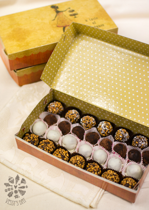 Бонбони с бейлис и шоколад