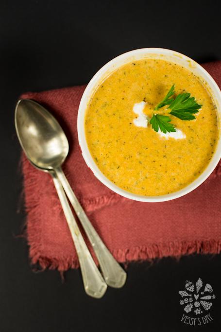 Доматена крем супа със сметана