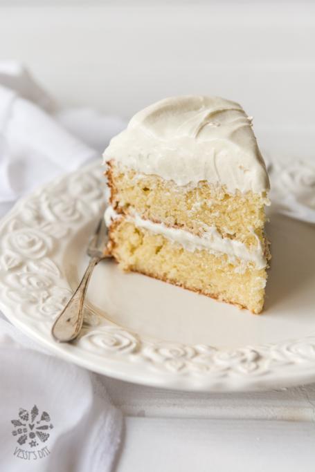 Сочна портокалова торта