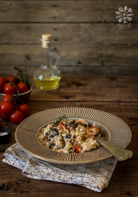 Ризото със скаморца и маслини