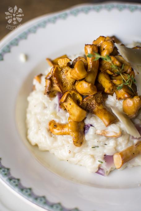 Wild mushroom risotto with mascarpone-1