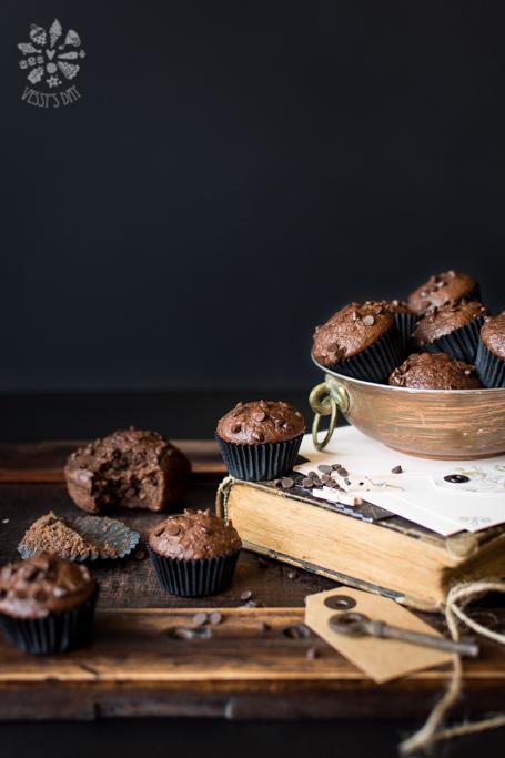 Бананово шоколадови кексчета