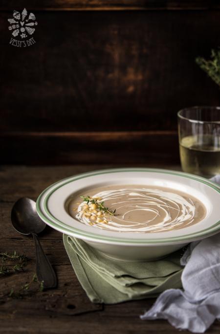 Крем супа от кестени