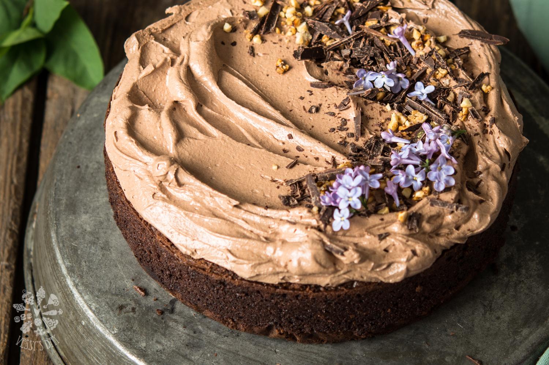 Шоколадова торта с бейлис и шоколадов крем