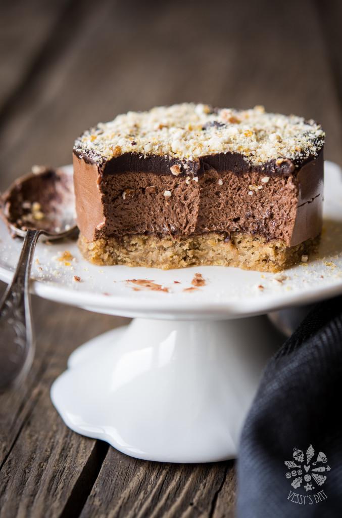 Тортички с кестени и шоколад