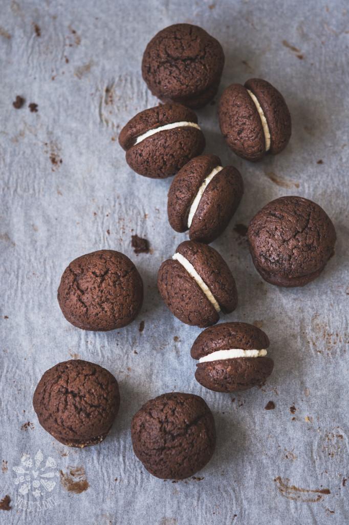 Сладки с кестени и бял шоколад